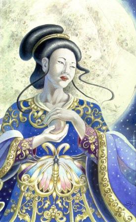 Ch'ang-O Chinese Goddess of the Moon